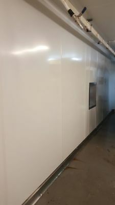 ***SALE*** PVC Hygienic wall cladding sheets in white 8 foot  x 4 foot x 2mm