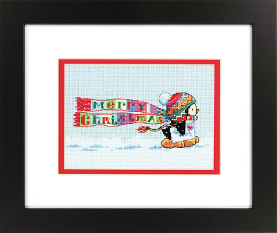 Dimensions - Mini Counted Cross Stitch Kit - Christmas Penguin - D70-08950