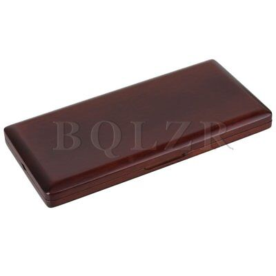 Beautiful Maroon Wooden Oboe Reed Case Hold 20 Reeds Open Easily Easy Use