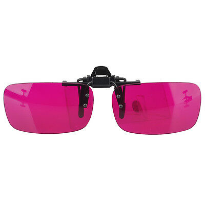 Flippable Clip On Colorblindness Glasses for Red Green Color Blind? Vision Care
