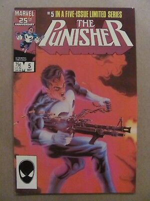 Punisher #5  Marvel Comics 1986 Limited Series Mike Zeck 9.2 Near Mint-