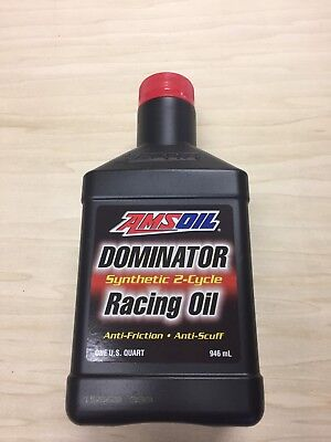 Amsoil Dominator 2 Stroke, 2 Cycle Synthetic Racing Oil, Per Quart