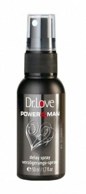 13,56EUR/100ml Dr. Love Power4Man Delay Spray 50ml Verzögerungsspray Intim