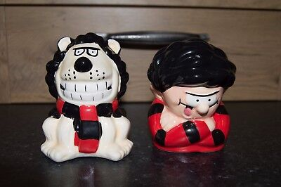 Dennis and Gnasher Salt and Pepper Pots
