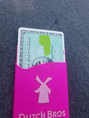 dutch brothers credit card holder