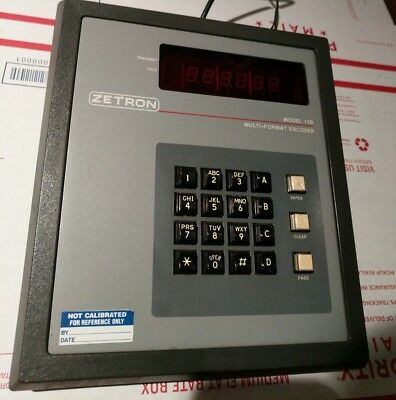 ~USED Zetron Model 15B Multi Format Paging Encoder Pager 901-9313