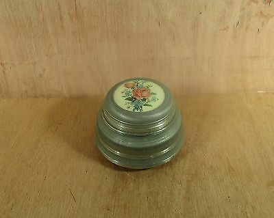 Music Box for Dusting Powder Working Condition No Powder or Puff Maker's Mark
