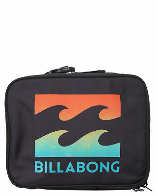 New Billabong Kirra Lunch Box Polyester Gifts Black