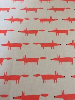 Scion Mr Fox Tablecloth New Remnant