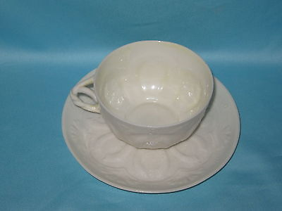 Belleek (2nd Mark 1891-1926) Eggshell Cup & Saucer