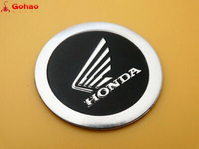 4cm Motorcycles 3D Tank Faring Round Badge Emblems Decal Sticker for Honda Wing