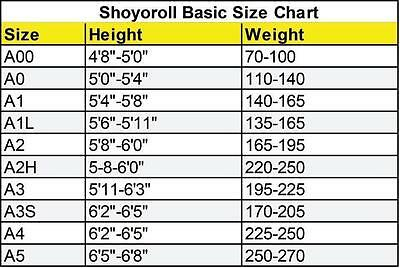 Shoyoroll Comp Standard XIV Winter***Brand New***high quality Replica BJJ GI