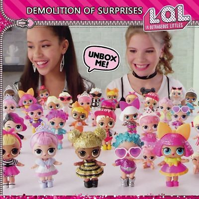LOL Surprise Doll Lil Outrageous Series 1/2 Doll Blind Mystery Creative Ball Toy