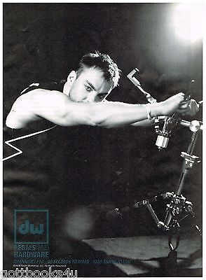 DW Pedals and Hardware - 30 Seconds to Mars - Shannon Leto - 2008 Print Ad