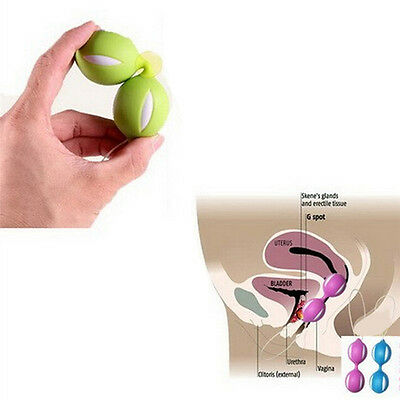 Duotone Ben Wa Ball On String Weighted Female Kegel Vaginal Tight Exercise ToyFT