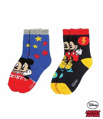 2er Pack Disney Frottee Handtuch Mickey Mouse 50x100 weiß