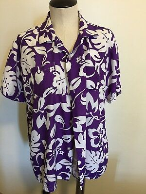 VINTAGE RARE orchids of  HAWAIIAN SHIRT MADE IN JAPAN pit to pit 23""