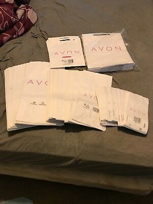 AVON BUSINESS SUPPLIES -MERCHANDISE BAGS SMALL / MED / LARGE with handles NEW