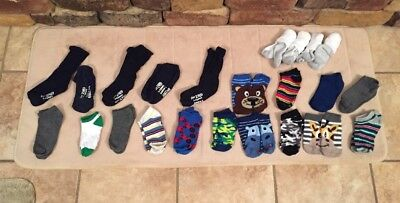 Baby Boy Lot 23 Pairs Various Prints And Colors