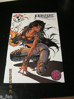 Witchblade #100 G Top Cow Aug 2006 / Fantastic Realm Blue Foil Cover only 375.