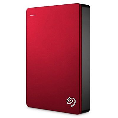 "Seagate 5TB Backup Plus Portable 2.5"" HDD Hard Drive USB 3.0 Powered - Red"