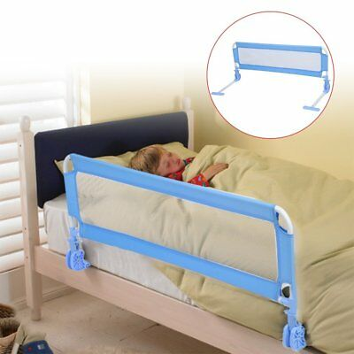 Toddler Bed Rail Safety Guard for Convertible Crib Kids Baby Infant Protector RO
