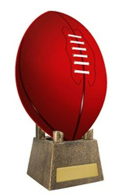 Aussie Rules AFL Football Upright Display Holder Trophy Stand made from Resin
