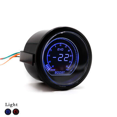 "2"" 52mm Auto Car Digital Turbo Boost Gauge Psi Meter Sensor Pressure"
