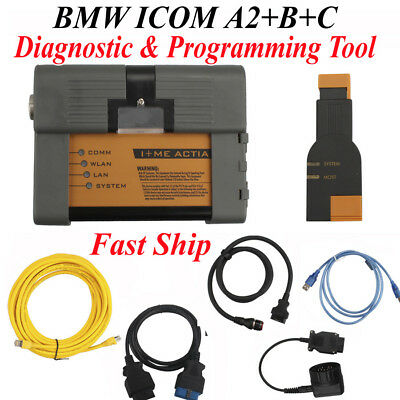New BMW ICOM A2+B+C Auto Diagnostic & Programming Tool without Software FastShip