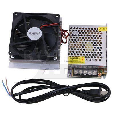 60W Semiconductor Refrigeration Fan DC12V with Power Supply