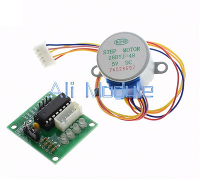 10pcs 5V ULN2003 Stepper Motor+Driver Board 4-Phase 5 Line in 1 Kit
