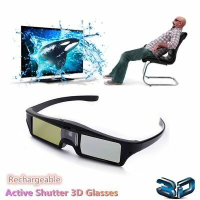 New Universal DLP-LINK 3D Glasses Active Shutter For DLP 3D Projector Video BenQ