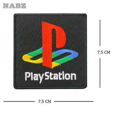 Playstation Game Embroidery iron sew on Patch
