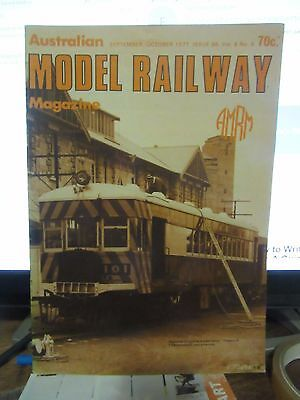 Australasian Model Railway Magazine September/October 1977 Issue 86  Vol 8 No 5