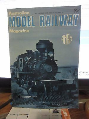 Australasian Model Railway Magazine July August 1978 Issue 91 Vol 8 No 10