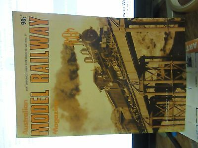Australasian Model Railway Magazine September October  1978 Issue 92 Vol 8 No 11