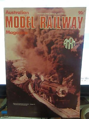 Australasian Model Railway Magazine May june 1978 Issue 90  Vol 8 No 9