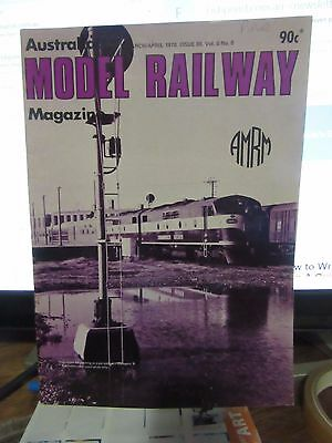 Australasian Model Railway Magazine March April 1978 Issue 89  Vol 8 No 8