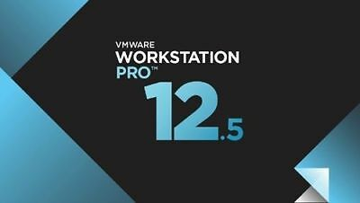 Vmware Workstation 12.5 Pro lifetime LICENCE  FULL VERSION 5 PC'S PER LICENCE