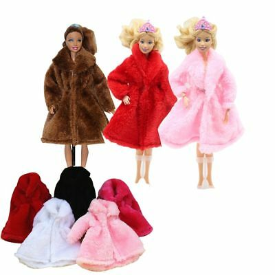 Beautiful Handmade Fashion Clothes Dress for Barbie Doll Cute Party Costume New