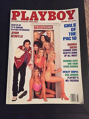 Jerry Seinfield Rare 1993 Playboy Magazine Issue