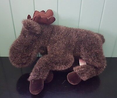 Douglas Cuddle Toys 40 cm Long Moose Plush animal Toy