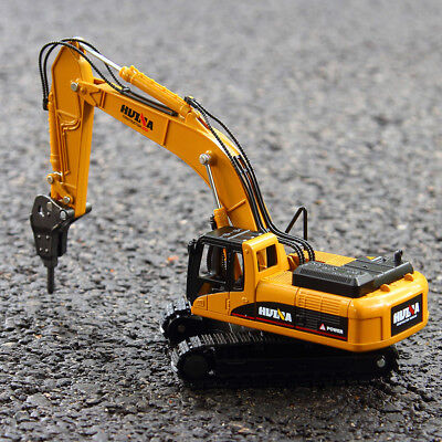 Mini 1:50 Alloy Compact Tractor Excavator Digger Construction Kid Toy Model Gift