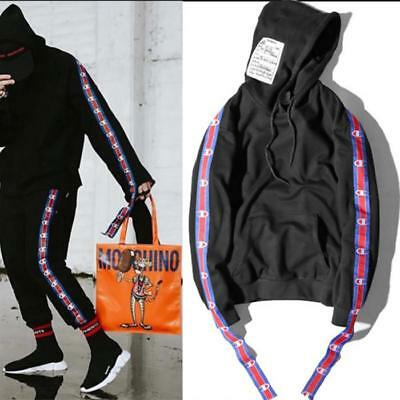 CMP X Vetements Hoodie EXO Kris Same Style Unisex Strap Casual Jumper Pullover