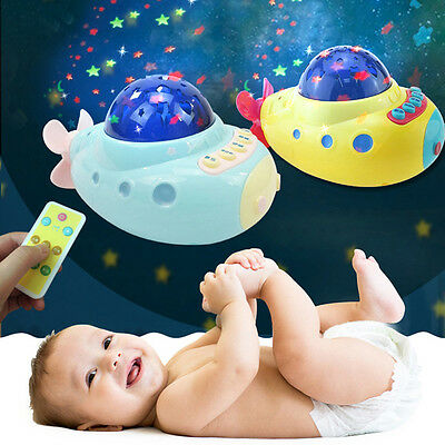 Baby Infant Musical Crib Mobile Bed Bell Toys Plastic Hanging Rattles Toy New