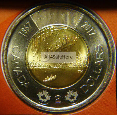 2017 Canada 150 Special Edition $2 Dollars Toonie Coin Dance of Spirits from Set
