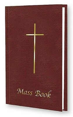 Roman Catholic Mass Book Burgundy - Missals Statues Candles Pictures Also Listed