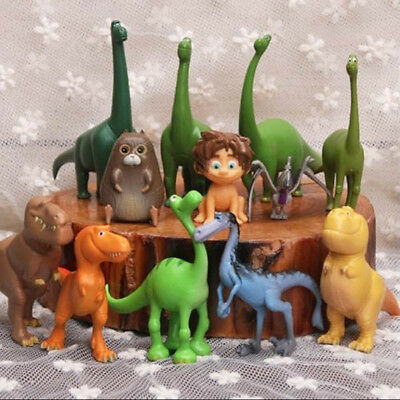 12pcs Disney The Good Dinosaur Figure Toys Arlo Spot Budda Ramsey Cake Topper AU