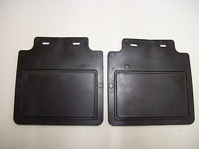 One pair of Rain mud flaps for 8 or 10 inch trailer mudguards Free P & P