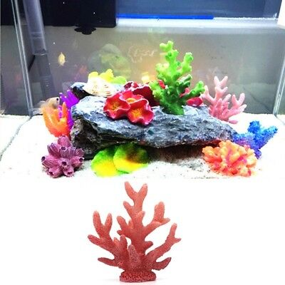 1 Piece Wonderful Fish Tank Decor Artificial Plant Starfish Coral Seaweed